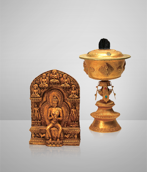 """""""Fire of Peace"""" Holy Flame Lamp and Amulet"""
