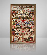 """Tapestry for Commemorating the """"National War of Bangladesh"""""""